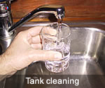 A1 Tank Services can clean and repair your tank to ensure a quality domestic water quality